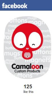 Facebook de Camaloon, especialista en chapas personalizadas