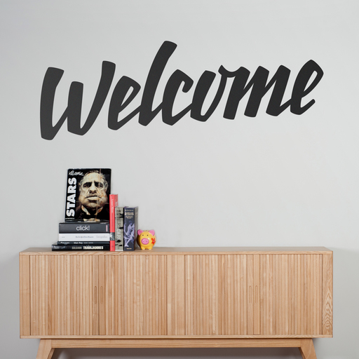 Welcome wall sticker by Marcos Medina