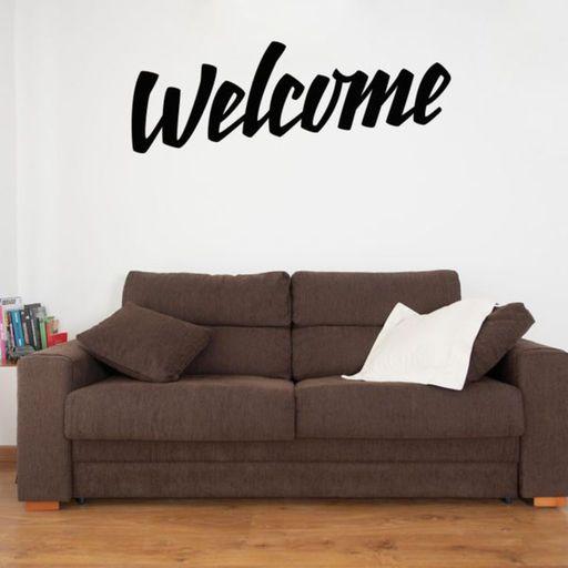 Vinilo de pared para colgar encima de tu sofa