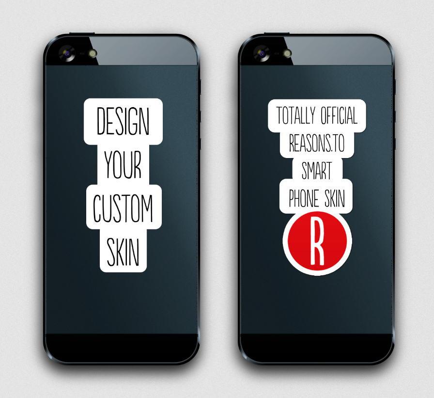 REASONS.TO - Diseña tu skin para smart phone.