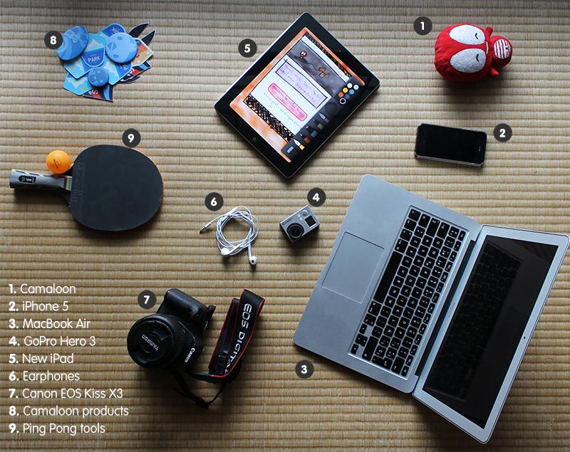 el escritorio de un media planner