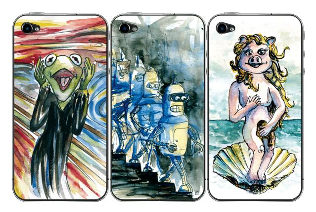Skins para iPhone de Luis Quintanto