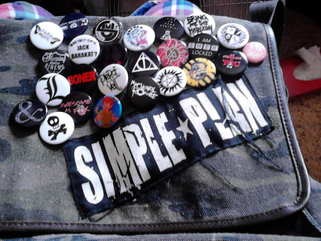 simple plan bag