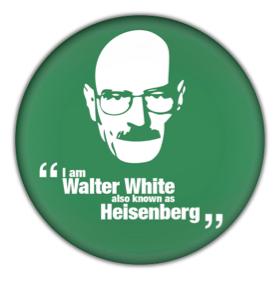 """Walter Hartwell White, también conocido como """"Heisenberg"""""""