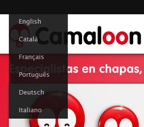 Camaloon habla alemán, italiano y portugués