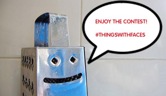 Partecipa al concorso di Camaloon #ThingsWithFaces