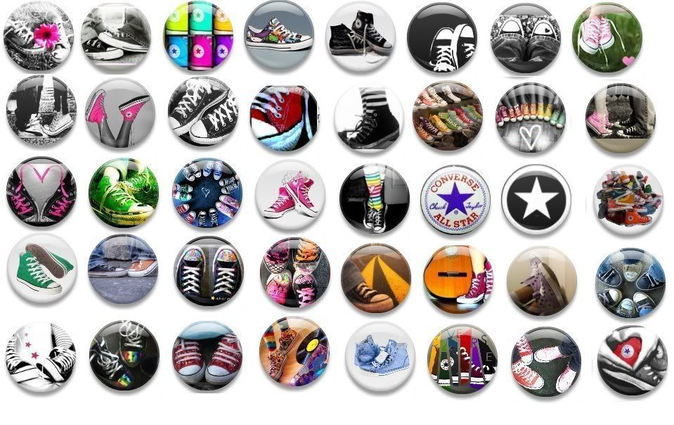 06847caefea0 Die Converse Buttons