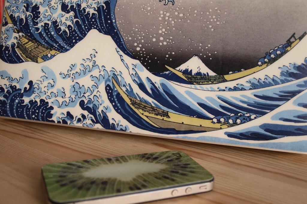 Nahansicht Skin für Macbook und iPhone