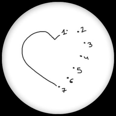 verschlüsselte liebesbotschaften als buttons zum junggesellenabschied