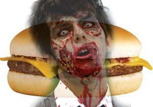 hamburguer zombie