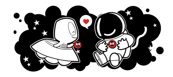 Camaloon caneca Astronauta