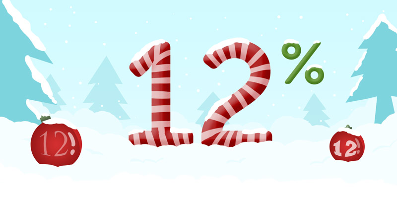 Discount on 12/12/12