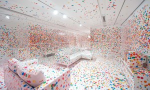 Kusama's Look Now, See Forever