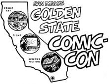 The first Comic-Con logo from 1970.
