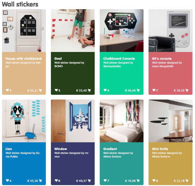 Wall Stickers Gallery