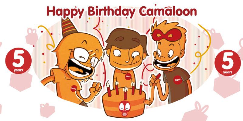 Camaloon anniversaire