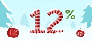 Sconto 12%
