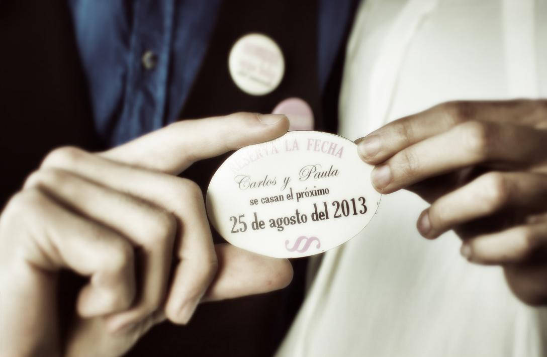 Badges pour le mariage