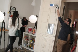 Shooting Camaloon Ads